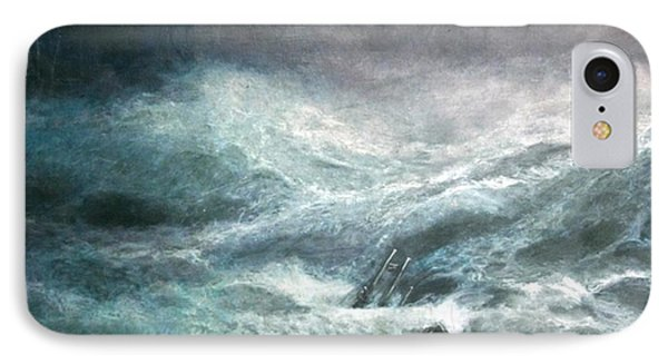 IPhone Case featuring the painting a wave my way by Jarko by Jarmo Korhonen aka Jarko
