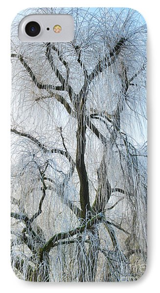 A Weeping Winter Willow  IPhone Case