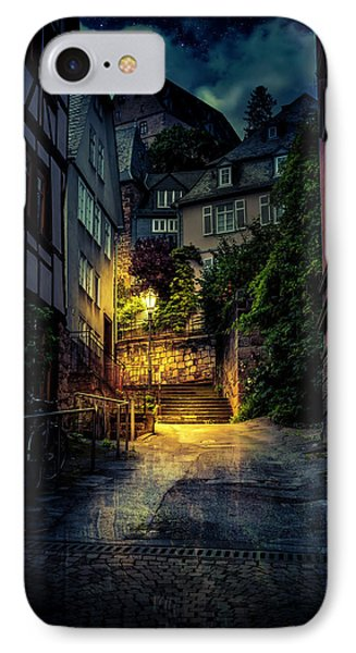 IPhone Case featuring the photograph A Wet Evening In Marburg by David Morefield