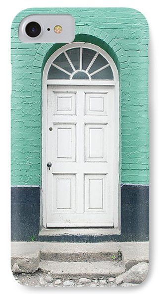 A White Door IPhone Case