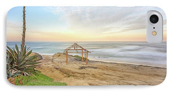 A Windansea Morning IPhone Case by Joseph S Giacalone