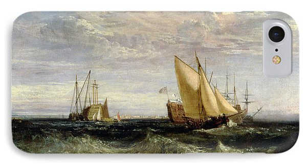 A Windy Day IPhone Case by Joseph Mallord William Turner