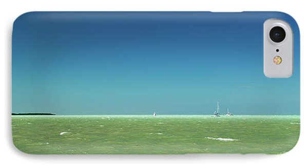 A Windy Day On The Bay Islamorada Florida Phone Case by Michelle Wiarda