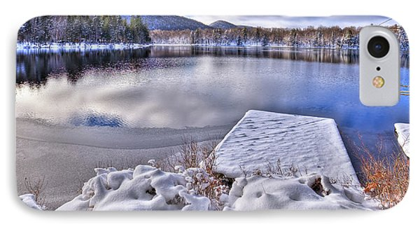 IPhone 7 Case featuring the photograph A Winter Day On West Lake by David Patterson