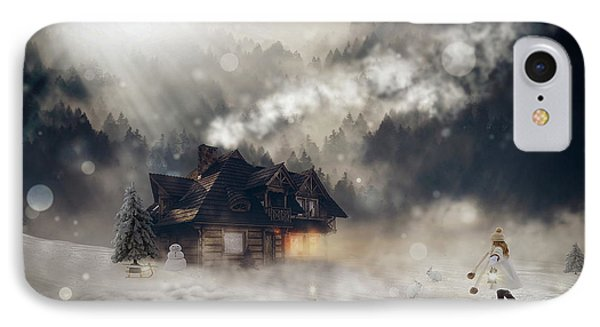 A Winter Fantasy IPhone Case by Pixel2013