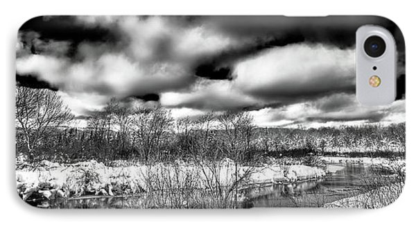 IPhone 7 Case featuring the photograph A Winter Panorama by David Patterson