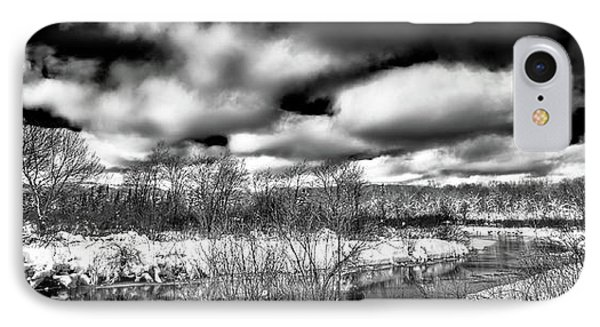 IPhone Case featuring the photograph A Winter Panorama by David Patterson