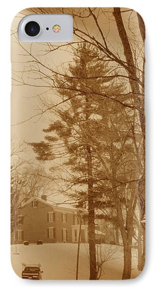 IPhone Case featuring the photograph A Winter Scene by Skyler Tipton