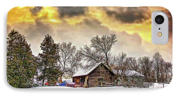A Winter Sky Phone Case by Steve Harrington