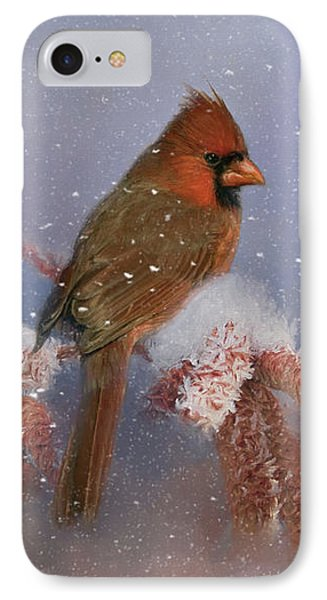 IPhone Case featuring the photograph A Winters Day by Lana Trussell