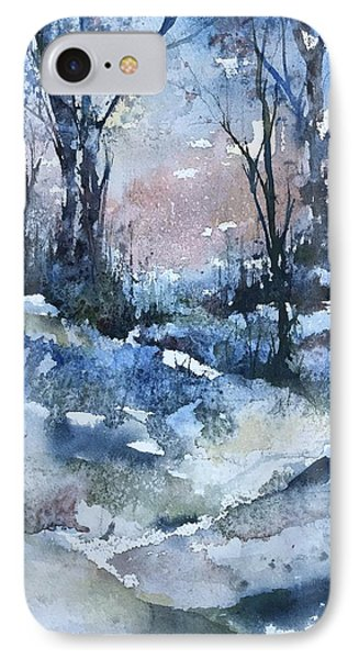 A Winter's Eve IPhone Case by Robin Miller-Bookhout