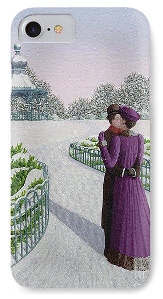 A Winter's Romance IPhone Case by Peter Szumowski