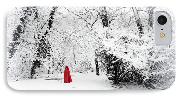 A Winter's Walk IPhone Case by Jessica Jenney
