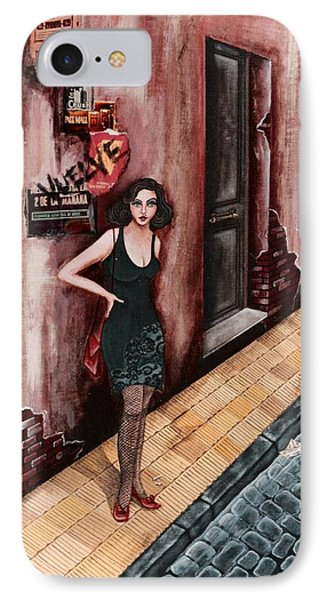 A Woman In Buenos Aires I IPhone Case by Graciela Bello