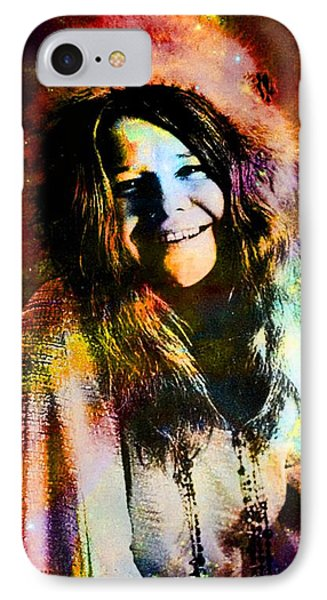 A Woman Of 1970 Rock And Roll IPhone Case