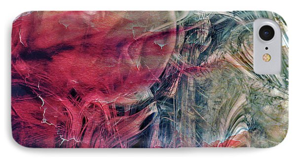 IPhone Case featuring the digital art A World Beyond by Linda Sannuti