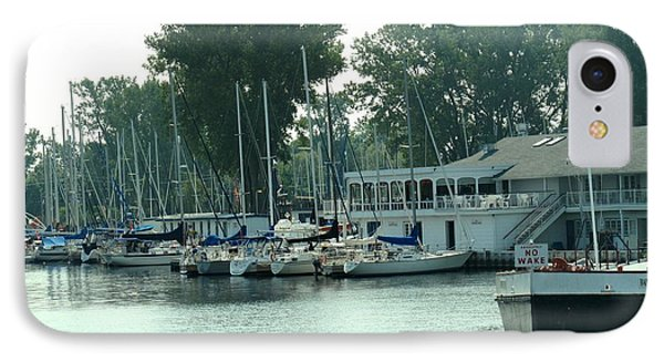 A Yacht Club IPhone Case by Ian  MacDonald