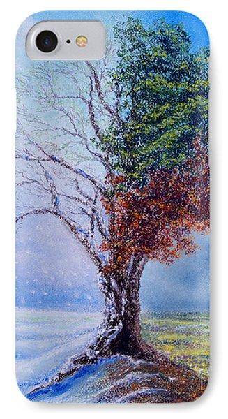 A Year In The Tree Of Life IPhone Case by Stanza Widen