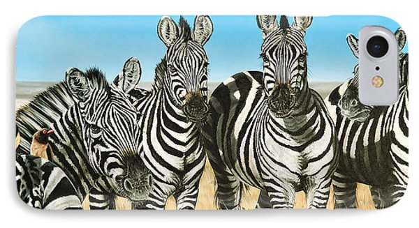 A Zeal Of Zebras IPhone Case