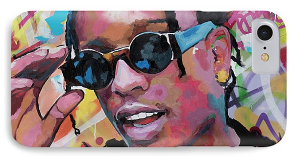 Harlem iPhone 7 Case - A$ap Rocky by Richard Day