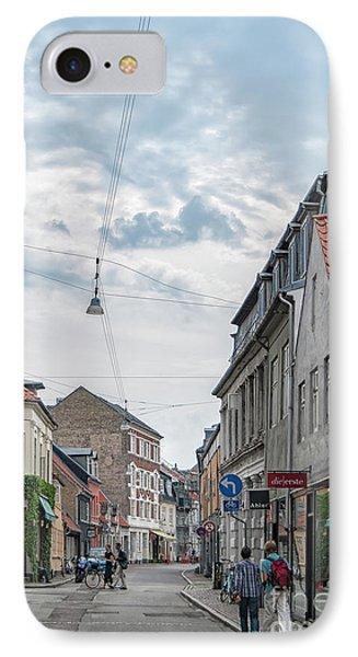 IPhone Case featuring the photograph Aarhus Urban Scene by Antony McAulay