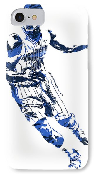 Aaron Gordon Orlando Magic Pixel Art 1 IPhone Case