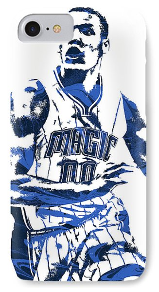 Aaron Gordon Orlando Magic Pixel Art 3 IPhone Case