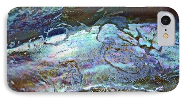 Abalone Stories Phone Case by Gwyn Newcombe