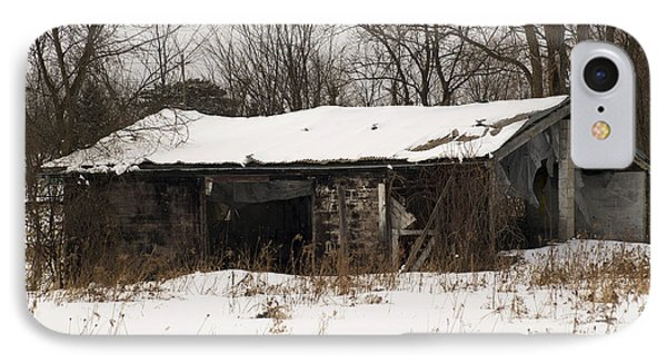 Abandoned And Cold Phone Case by Elaine Mikkelstrup