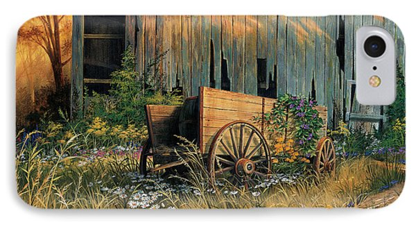 Abandoned Beauty IPhone Case by Michael Humphries