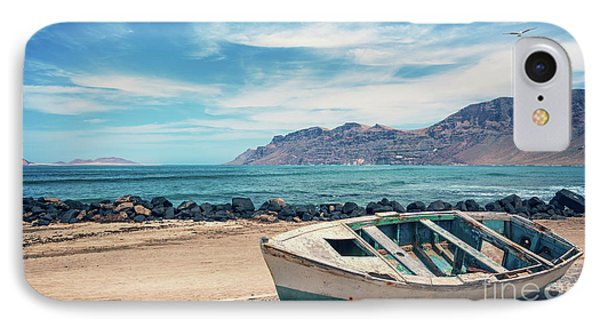 Abandoned Boat IPhone Case by Delphimages Photo Creations