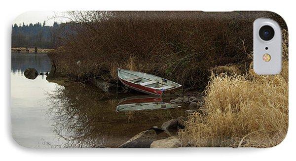 Abandoned Boat II IPhone Case