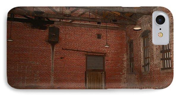 Abandoned Brick Warehouse IPhone Case by Ronald Olivier
