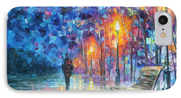 Abandoned By Winter Phone Case by Leonid Afremov