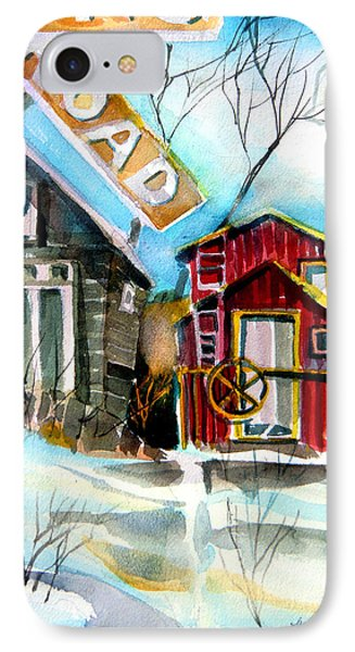 Abandoned Caboose Phone Case by Mindy Newman