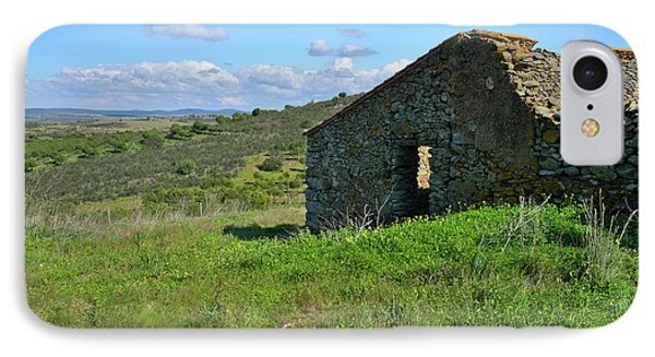 Abandoned Cottage In Alentejo Phone Case by Angelo DeVal