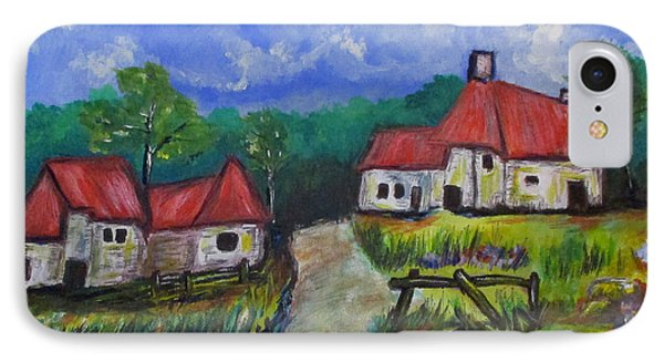 Abandoned Farm IPhone Case by Clyde J Kell