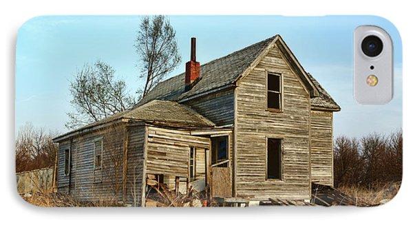Abandoned Farmhouse IPhone Case by Nikolyn McDonald