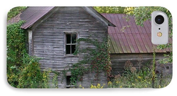 Abandoned Farmhouse On Stacy Fork IPhone Case by Douglas Barnett
