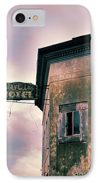 IPhone Case featuring the photograph Abandoned Hotel by Jill Battaglia