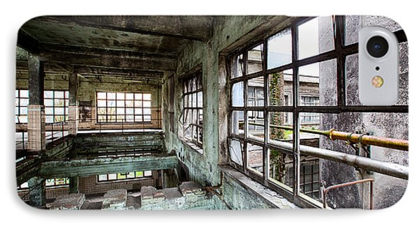 Abandoned Industrial Distillery  IPhone Case by Dirk Ercken