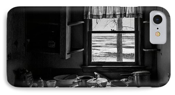 Abandoned Kitchen IPhone Case by Dan Traun