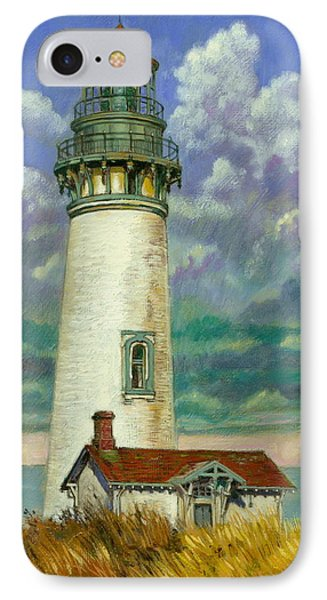Abandoned Lighthouse Phone Case by John Lautermilch