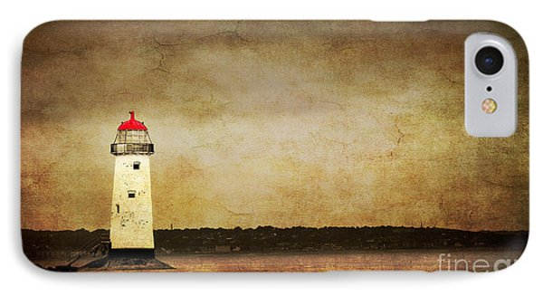 Abandoned Lighthouse Phone Case by Meirion Matthias
