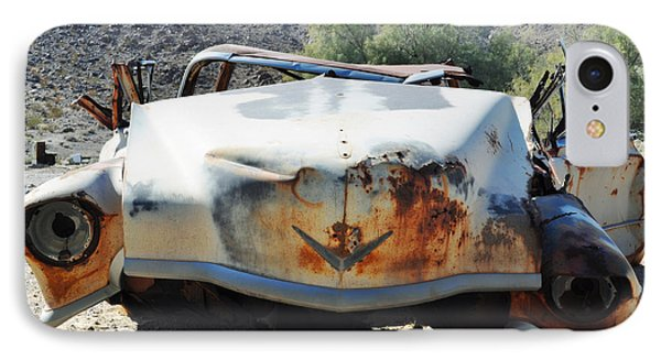 IPhone Case featuring the photograph Abandoned Mojave Auto by Kyle Hanson