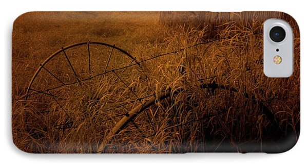 Abandoned Near Joyceville Road IPhone Case by Jim Vance