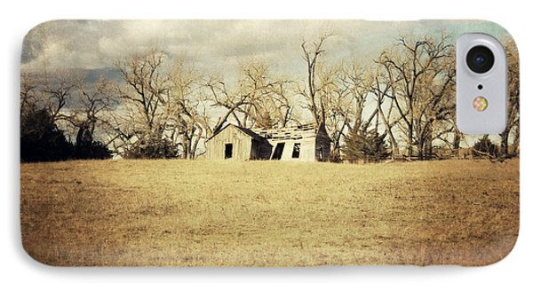 Abandoned Nebraska IPhone Case by Julie Hamilton