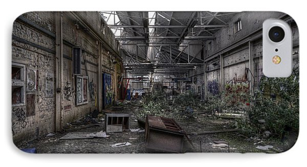 Abandoned Place IPhone Case by Svetlana Sewell