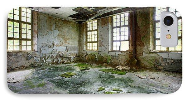 Abandoned Room - Urban Exploration IPhone Case by Dirk Ercken