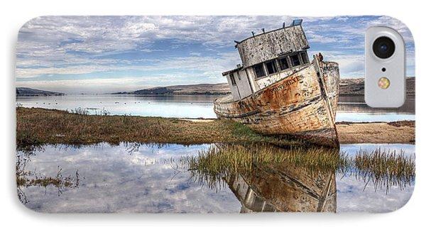 Abandoned Ship Phone Case by Eddie Yerkish